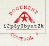 Example Document Control Number (DCN) stamp